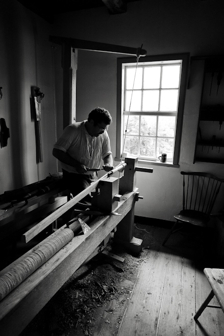 Carpenter in Old Salem