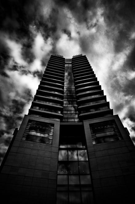 dark hotel in Tokyo