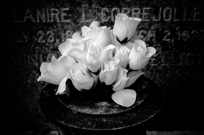 <br /> Cemetery Flowers