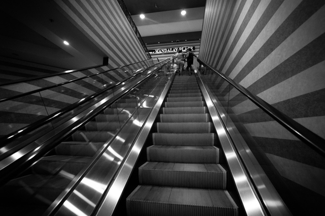 Luxor Escalator