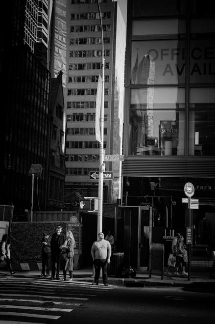 Manhattan Street Corner