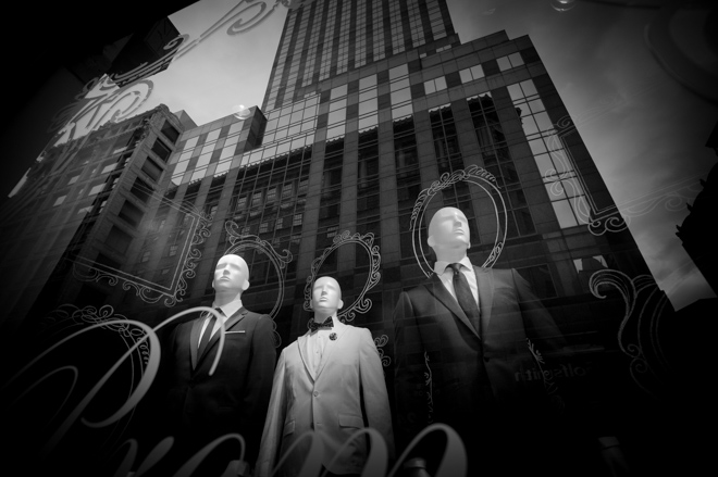 <br /> Manhattan Store Window