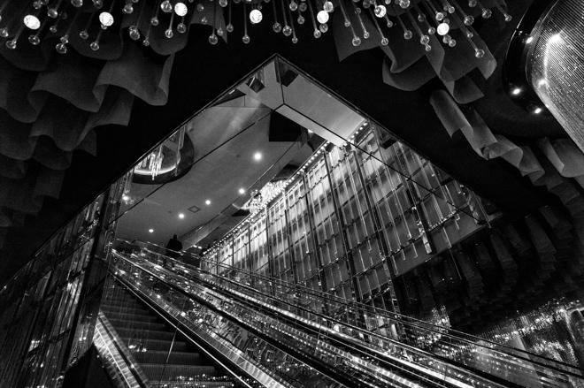 Cosmopolitan Escalator