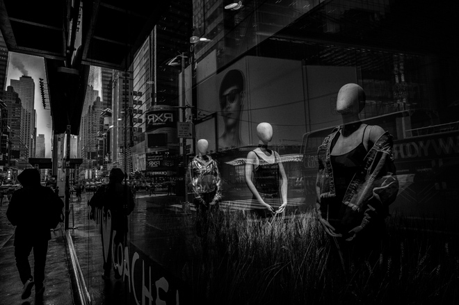 Manhattan Store Window