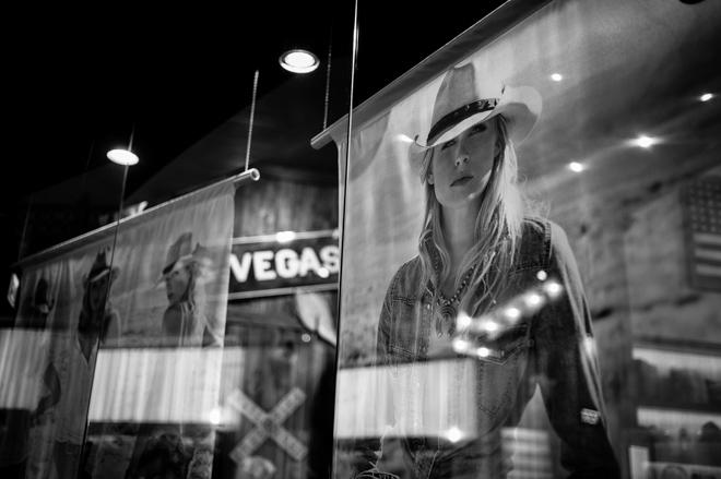 Vegas Store Window